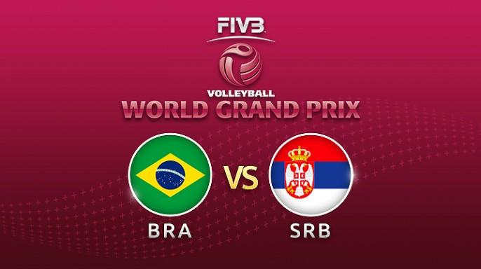 ดูละครย้อนหลัง Highlight วอลเลย์บอล World Grand Prix 2017 | 14-07-60 | บราซิล-เซอร์เบีย เซตที่ 1