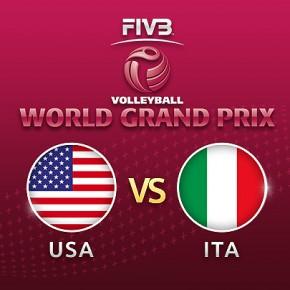 รายการย้อนหลัง Highlight วอลเลย์บอล World Grand Prix 2017 | 20-07-60 |  อิตาลี พลิกกลับมาชนะ สหรัฐอเมริกา 3 ต่อ 2 เซต เซตที่ 5 (จบ)