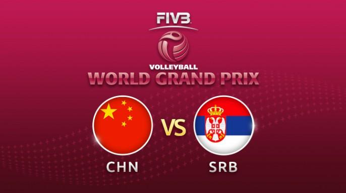ดูละครย้อนหลัง วอลเลย์บอล World Grand Prix 2017 | 23-07-60 | เซอร์เบีย ขึ้นนำ จีน เซตที่ 2
