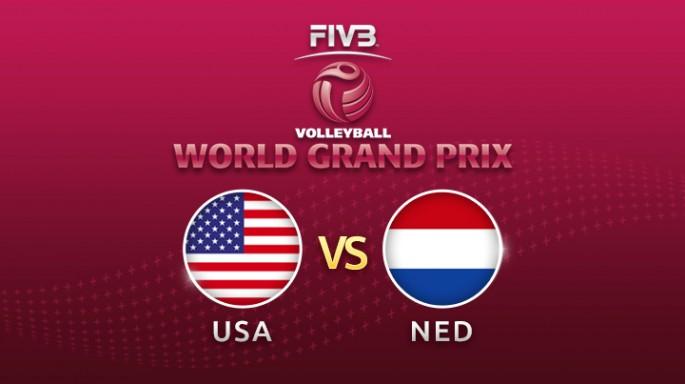 ดูละครย้อนหลัง วอลเลย์บอล World Grand Prix 2017 | 20-07-60 | สหรัฐฯ พบ เนเธอร์แลนด์ เซตที่ 1