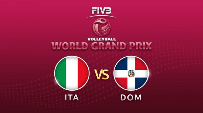 ดูละครย้อนหลัง Highlight วอลเลย์บอล World Grand Prix 2017 | 22-07-60 | อิตาลี เอาชนะ สาธารณรัฐโดมินิกัน 3 เซตรวด เซตที่ 3 (จบ)