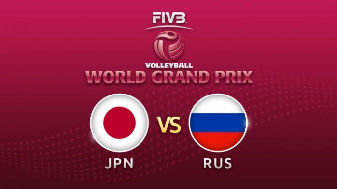ดูละครย้อนหลัง วอลเลย์บอล World Grand Prix 2017 | 23-07-60 | ญี่ปุ่น พบ รัสเซีย เซตที่ 1