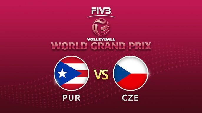 ดูละครย้อนหลัง วอลเลย์บอล World Grand Prix 2017 | 16-07-60 | สาธารณรัฐเช็ก ตามหลัง เปอร์โตริโก อยู่ 0-2 เซต เซตที่ 2