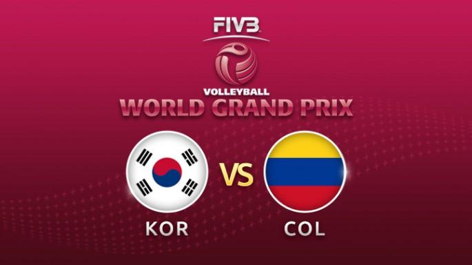 ดูละครย้อนหลัง วอลเลย์บอล World Grand Prix 2017 | 22-07-60 | เกาหลี ชนะ โคลัมเบีย เซตที่ 2
