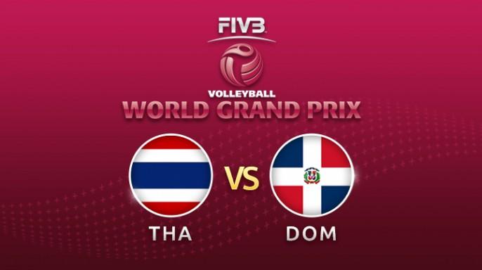 ดูละครย้อนหลัง วอลเลย์บอล World Grand Prix 2017 | 21-07-60 | โดมินิกันตีเสมอไทย เซตที่ 2