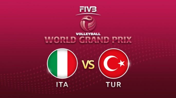 ดูละครย้อนหลัง วอลเลย์บอล World Grand Prix 2017 | 21-07-60 |  ตุรกีตีเสมออิตาลี เซตที่ 2