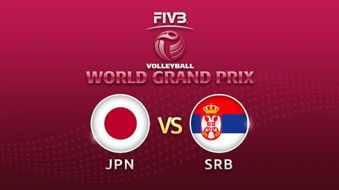 ดูละครย้อนหลัง วอลเลย์บอล World Grand Prix 2017 | 15-07-60 | เซอร์เบียขึ้นนำญี่ปุ่น เซตที่ 2