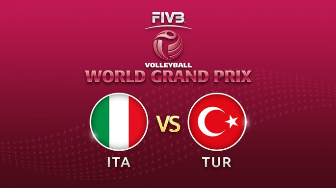 Highlight วอลเลย์บอล World Grand Prix 2017|16-07-60|อิตาลี พบ ตรุกี เซตที่ 1
