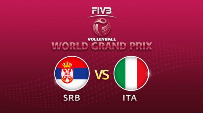 ดูละครย้อนหลัง วอลเลย์บอล World Grand Prix 2017 | 04-08-60 | เซอร์เบีย ขึ้นนำ อิตาลี เซตที่ 2