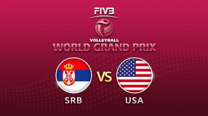 ดูละครย้อนหลัง Highlight วอลเลย์บอล World Grand Prix 2017 | 02-08-60 | เซอร์เบีย พบ สหรัฐอเมริกา เซตที่ 1