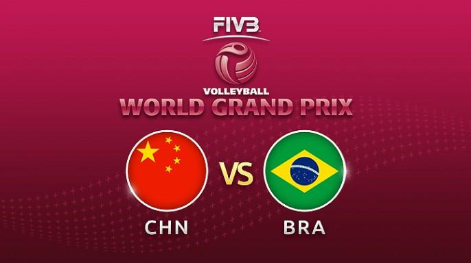ดูละครย้อนหลัง Highlight วอลเลย์บอล World Grand Prix 2017 | 02-08-60 | บราซิล พบ จีน เซตที่ 1