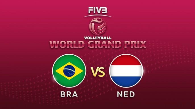 ดูละครย้อนหลัง Highlight วอลเลย์บอล World Grand Prix 2017 | 03-08-60 | บราซิล ตีเสมอ เนเธอร์แลนด์ เซตที่ 2
