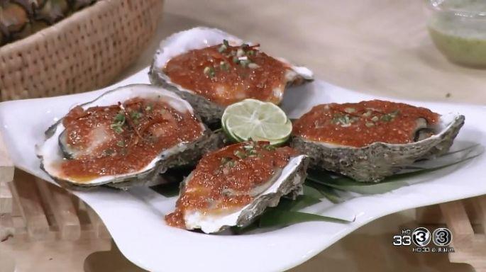 ดูละครย้อนหลัง ครัวคุณต๋อย | หอยนางรมย่างซอสแดง  ร้านมหาเศรษฐี ซีฟู้ด  (ชลบุรี)
