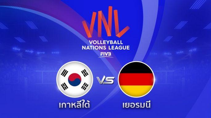 ดูรายการย้อนหลัง เกาหลี ตาม เยอรมนี 0 - 1 | เซตที่ 1 | 22-05-2018