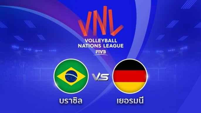 ดูรายการย้อนหลัง  บราซิล พ่าย เยอรมนี 2 - 1 | เซตที่ 3 | 15-05-2018