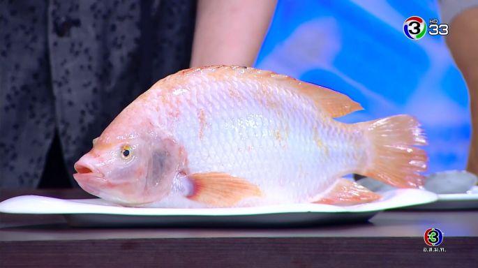 ดูรายการย้อนหลัง ครัวคุณต๋อย | ปลาทับทิม ชมรมผู้เลี้ยงปลากระชังลุ่มน้ำภาคกลาง จ.กาญจนบุรี