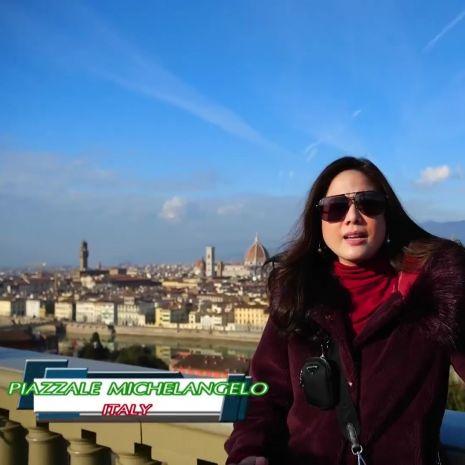 รายการย้อนหลัง (Say Hi) | PIAZZALE MICHELANGELO - ITALY