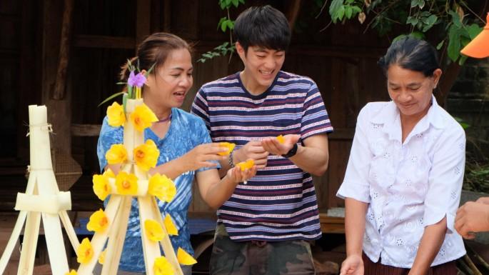 เรื่องย่อละครช่อง3 เจได ชวนปั่นจักรยานเที่ยวเลย ทำต้นผึ้ง ถวายพระธาตุศรีสองรัก