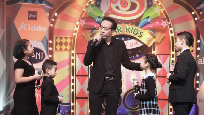 """ข่าวรายการ STAR KIDS """"สตาร์ คิดส์"""" หาผู้เข้ารอบแชมป์ออฟเดอะแชมป์ ครูโรจน์ ร่วมร้องเพลงพิเศษกับนักร้องรุ่นเยาว์"""
