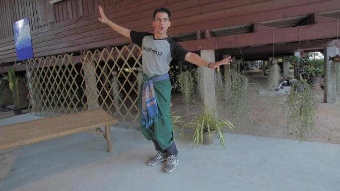 ข่าวรายการ หลงรักยิ้ม ฝรั่งหลงเมืองไทย แดเนียล เฟรเซอร์ พาเที่ยววิถีไทย ใกล้กรุง