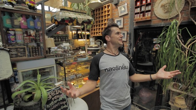 ข่าวรายการ หลงรักยิ้ม ลุยที่ฮิปๆ ในเมืองกรุง สไตล์ฝรั่งหลงเมืองไทย ใน หลงรักยิ้ม