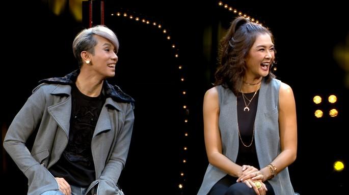 ข่าวรายการ Tonight The Night (คืนสำคัญ) Tonight's the night เทป  แขกรับเชิญ รายการ The face Thailand 3  เมนเทอร์ ลูกเกด และ เต้ ปิยะรัฐ