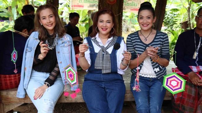 ตอน :: เที่ยวตลาดบ้านกง เยือนชุมชนบ้านไทยครั่ง