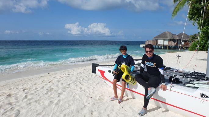 """ข่าวรายการ สมุดโคจร On the way หลงรักสวรรค์บนดิน """"Maldives"""" ในรายการ สมุดโคจร On The Way"""