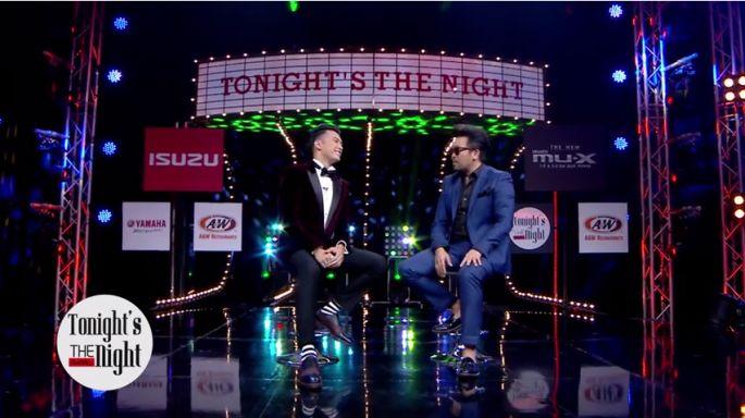 ข่าวรายการ Tonight The Night (คืนสำคัญ)  แชมป์ The Face men Thailand คนแรก ฟิลลิปส์ ทินโรจน์