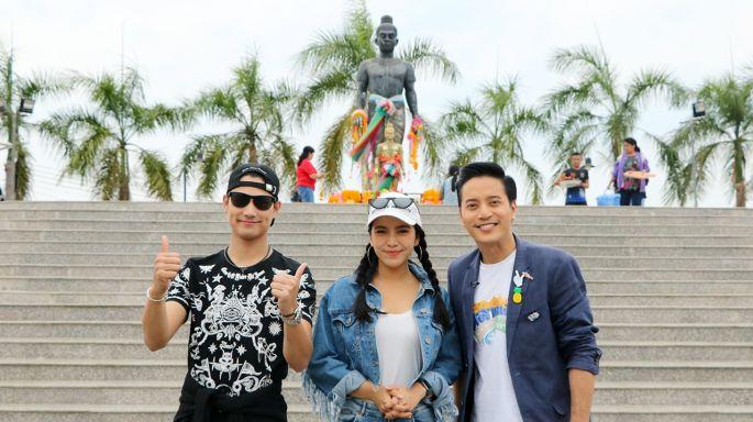 """ข่าวรายการ ตลาดเด็ดประเทศไทย """"ปาล์ม-ศุภชัย"""" จับมือ """"มะปราง-วิรากานต์"""" ล่ารหัสโหด พิชิตของแหลม!!!  กลางรายการ """"ตลาดเด็ดประเทศไทย"""""""
