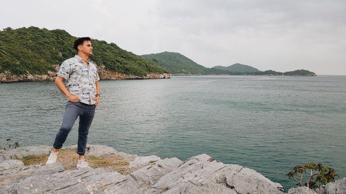 """ข่าวรายการ หลงรักยิ้ม ฝรั่ง """"แดเนียล"""" หลงรักเกาะสีชัง เที่ยวง่ายใกล้กรุง"""
