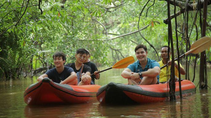 ข่าวรายการ สมุดโคจร On the way สมุดโคจร On The Way พาตะลุยดินแดนป่าอเมซอน แห่งคลองสังเน่ห์ จ.พังงา