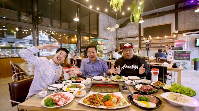 ข่าวรายการ กินเที่ยว Around The World ร้าน Seoul Light